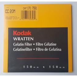 CC 20M Wratten Filter