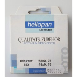 Heliopan Adapter Ring 58/49E
