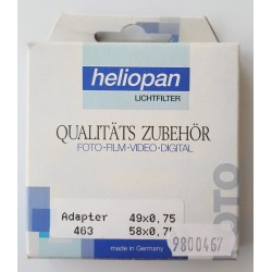 Heliopan Adapter Ring 49/58E