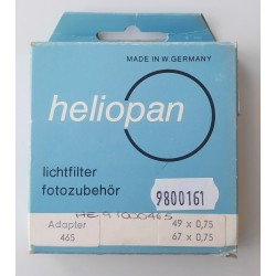 Heliopan adapter ring 49/67E
