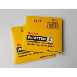 "22 Wratten 100mm 4"" Gel Filter"