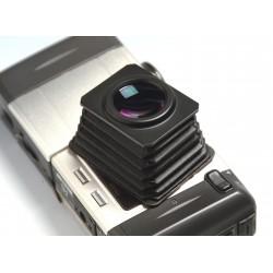 50mm LCD bellow hood + 4x lens