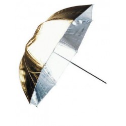 Umbrella Gold & Silver 84cm