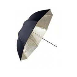 Umbrella Gold & Black Cover...